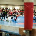 The Rhinestone Cowgirls and the Cherry Bombs are skating hard to see who will win the Calvello Cup.Photo by Skylar Isdale