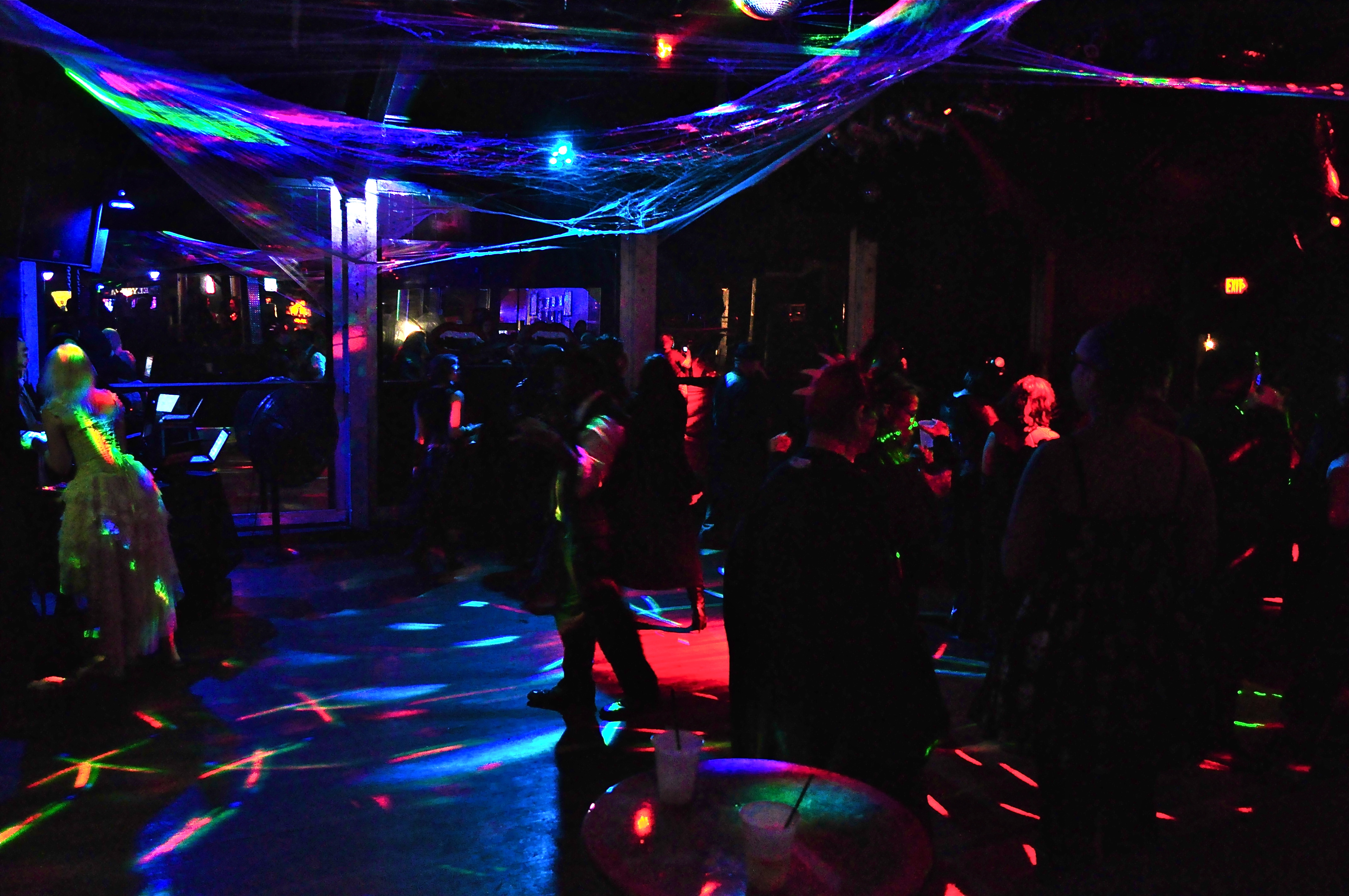 Austinites gather at the disco-lit Elysium on October 19 for their 2nd annual Vampire Ball.