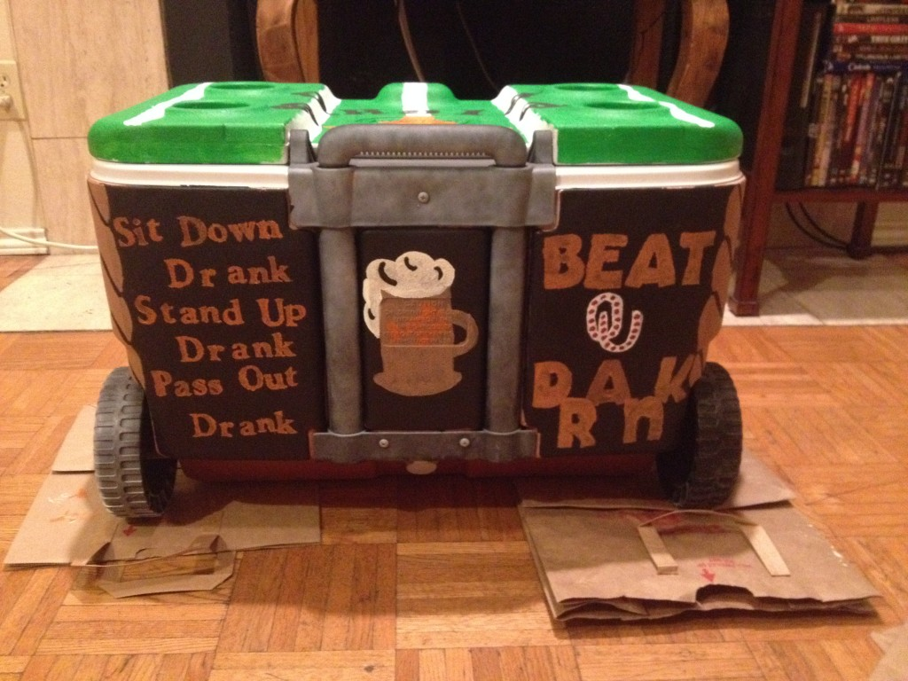 Some girls pick designs that personalize their cooler to their dates favorite songs. tv shows, and movies. credit: Kari Counter