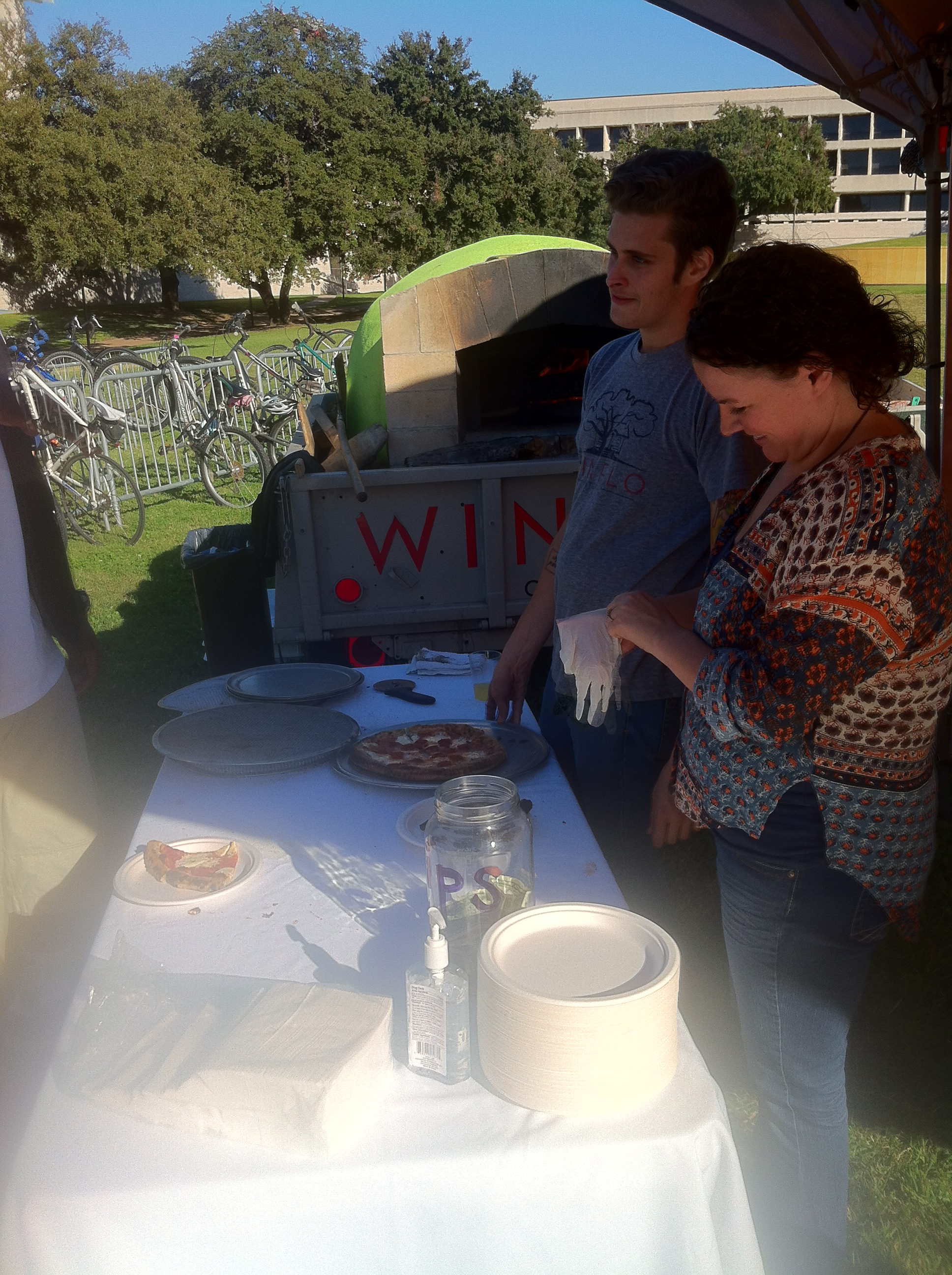 Free food and good times are all but guaranteed while tailgating.  Tailgates can be hosted by friends or large corporations.