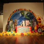 Three altars were created in the Mexic-Arte Museum in Austin to honor the deceased. Rhajibeigi Photography.