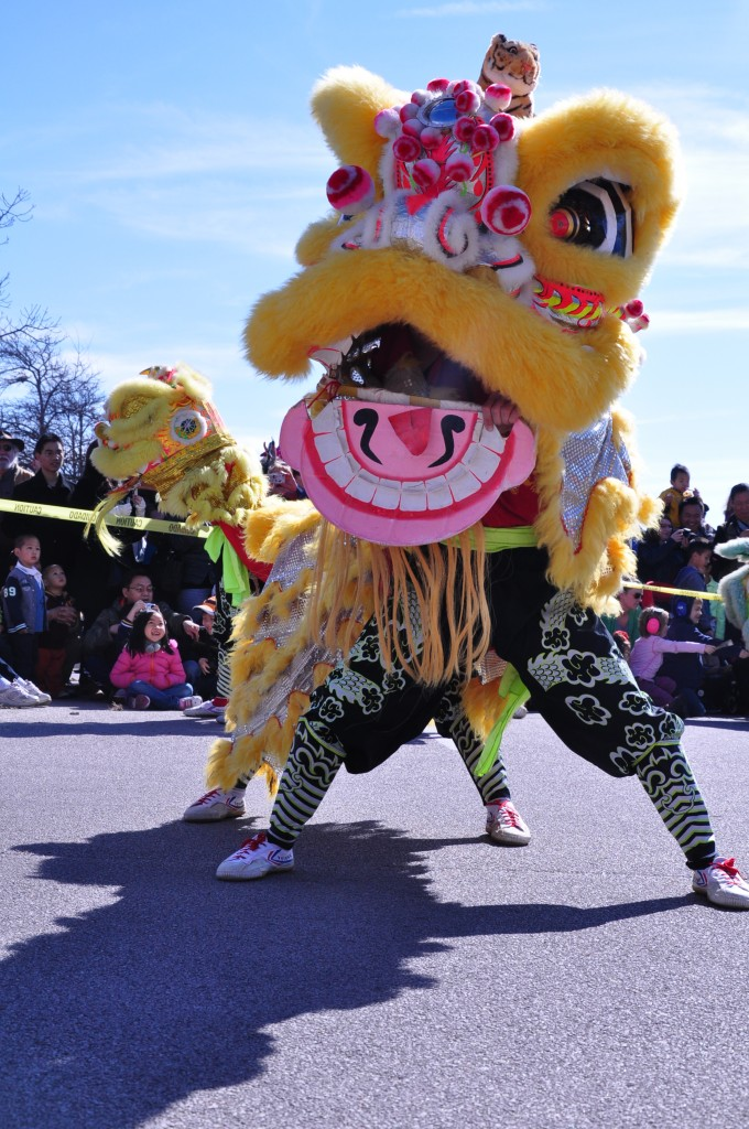 Thien Hau/ Linh Son Lion Dance Team. Photo by Kirby Camerino.