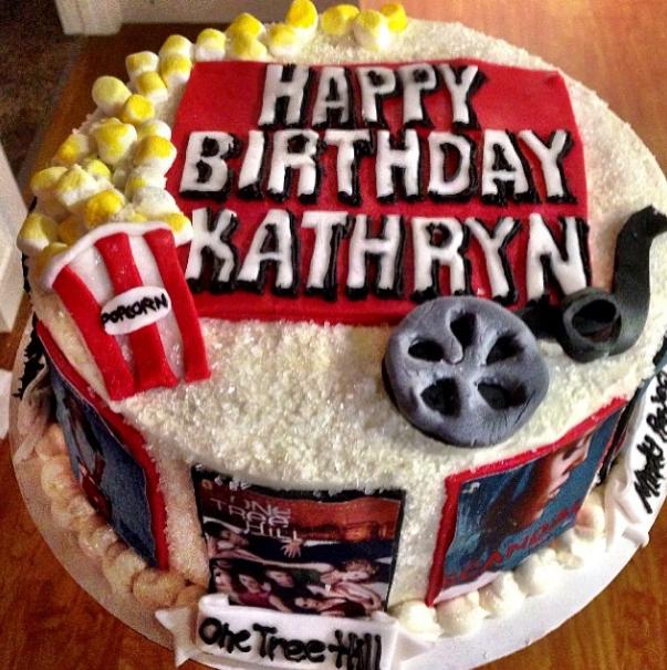 Netflix-themed cake