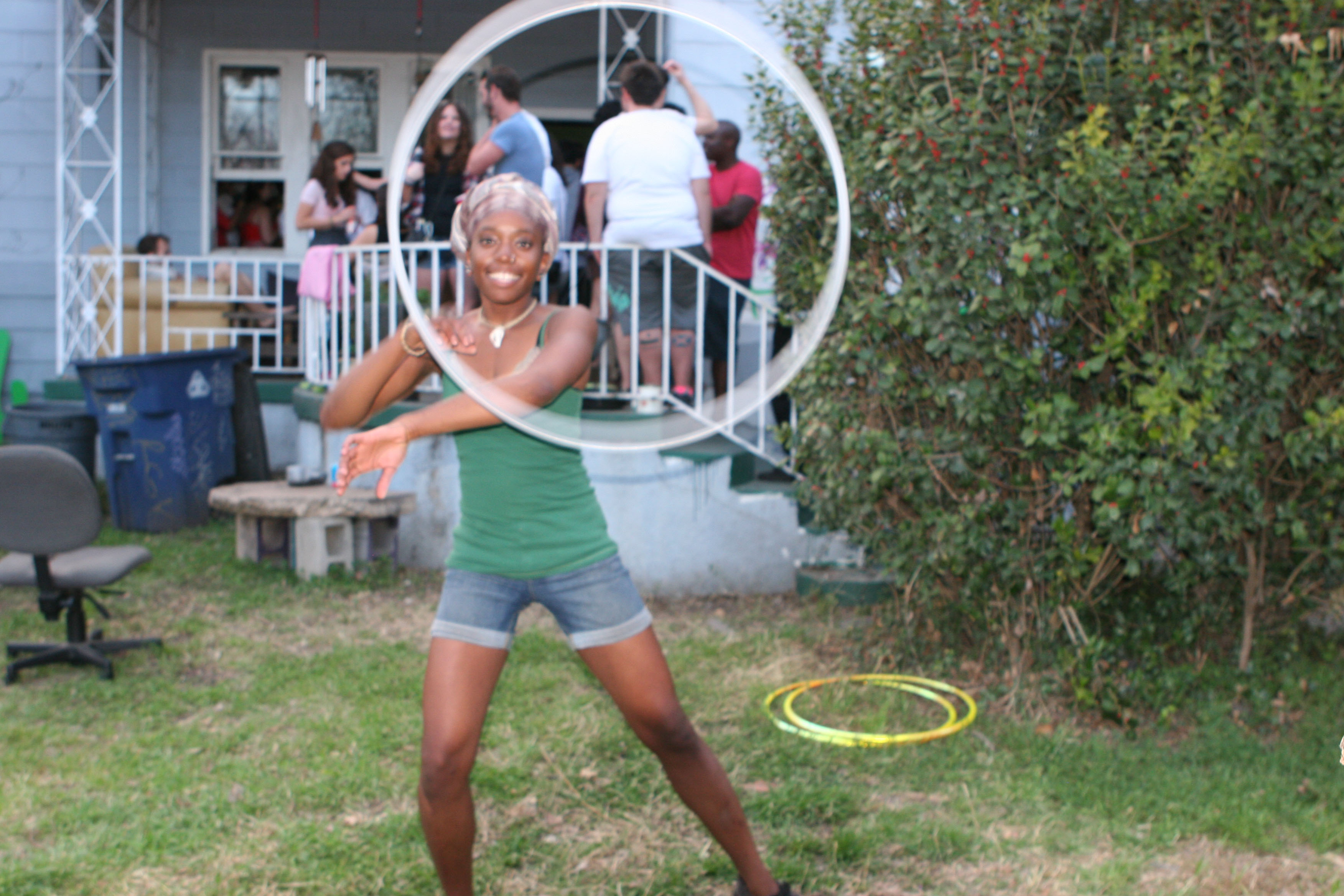 street performer, Nnendi