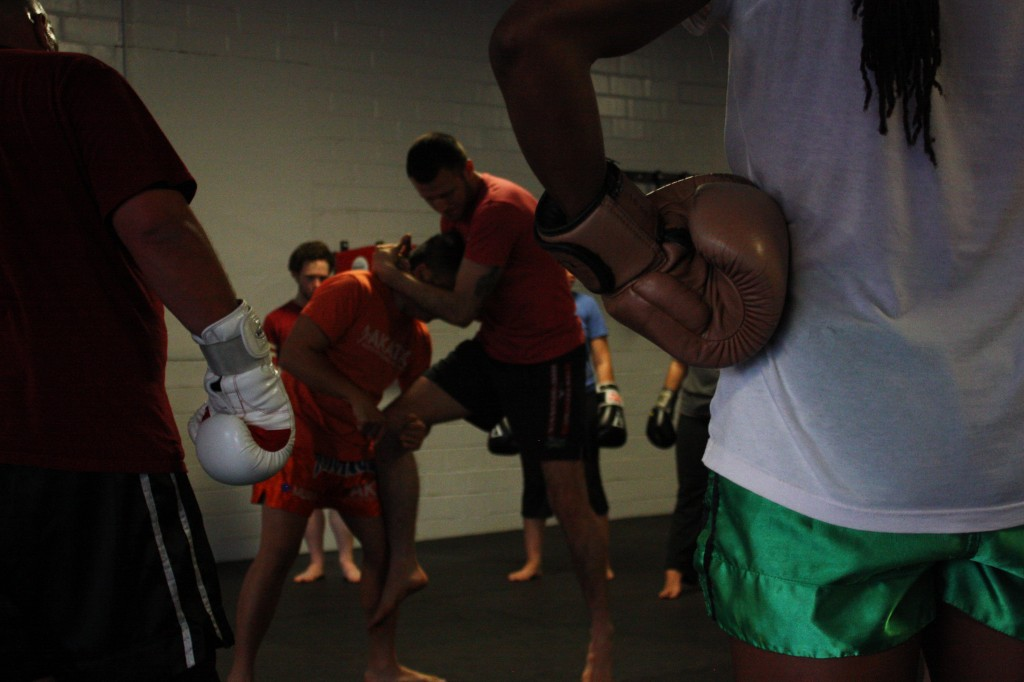 Vera teaches Muay Thai to students who range in age, from six years  to 60.
