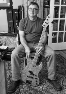 Bruce Jones, the bass player, began playing for the Lizards five years ago.