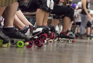 Roller skates are personalized with every skaters personalities.