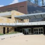 The Austin City Hall building.
