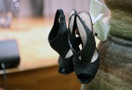 High-heel shoes are a staple for a successful drag queen.