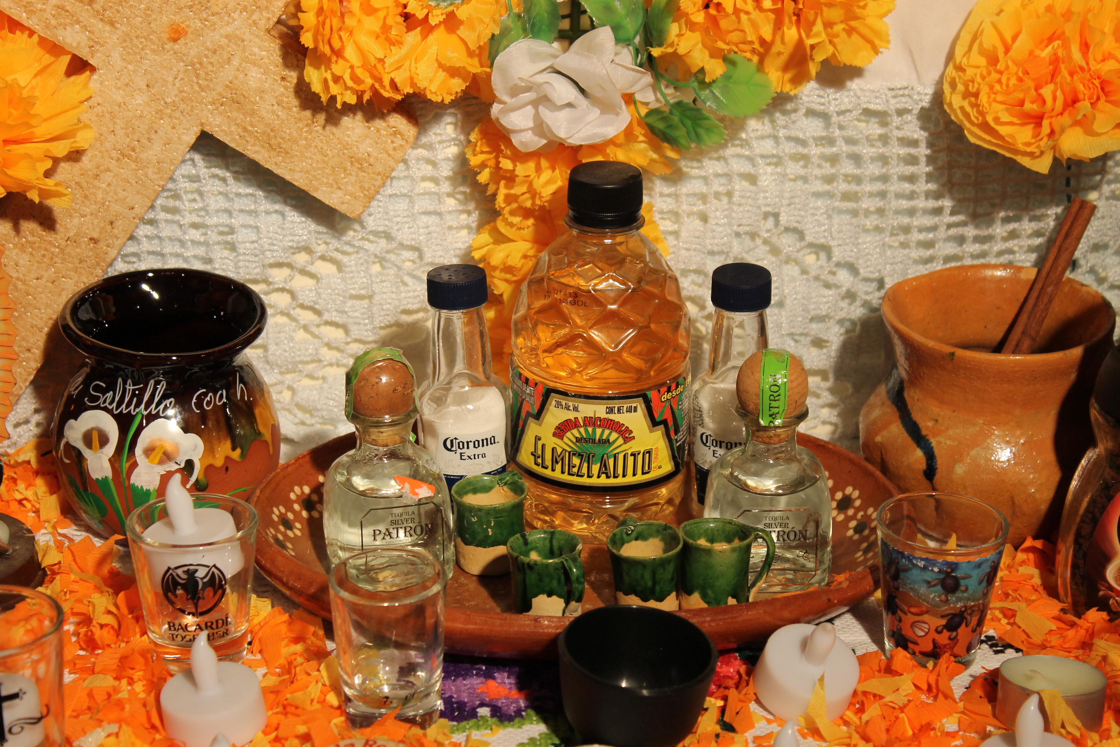 Michoacán Altar Closeup