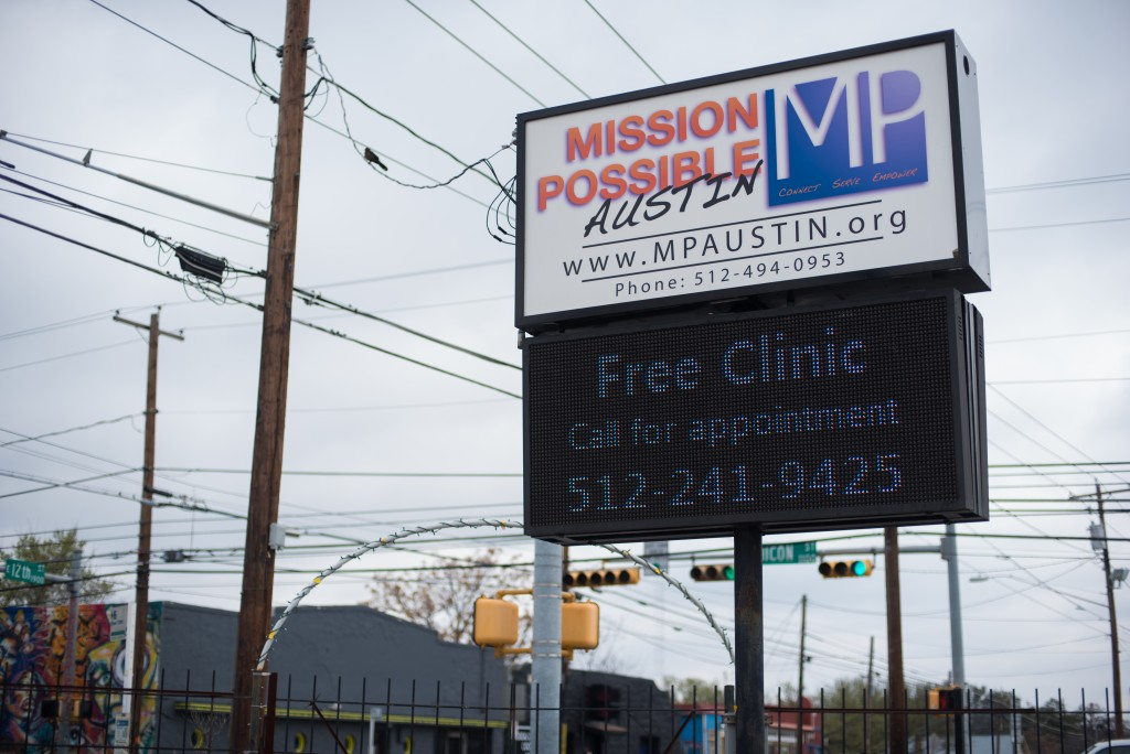 Mission Possible Austin is home to the Drug Market Intervention Program on 12th and Chicon St. Photo by Becca Gamache