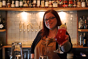 Jenn Keyser Bar Manager (Photo/Chrissy Dickerson)
