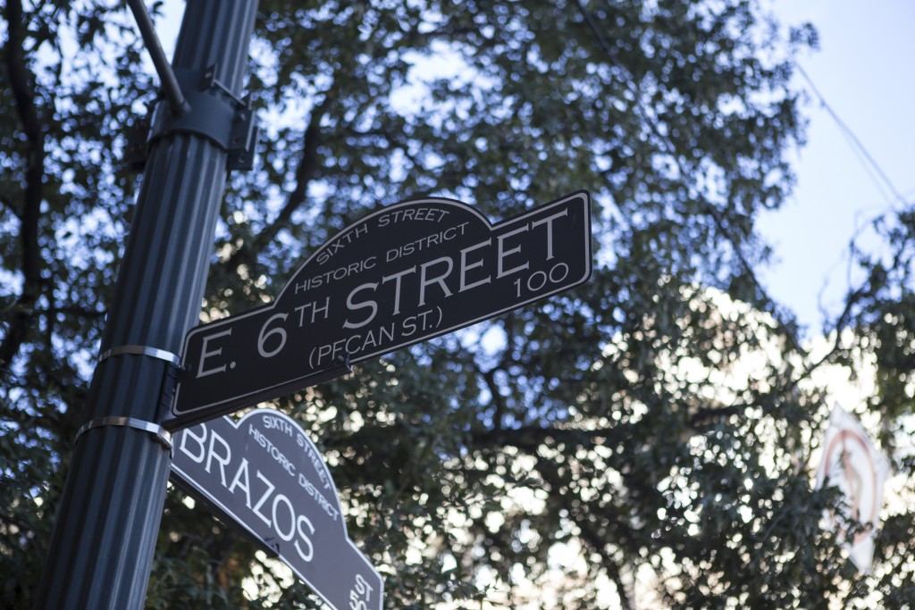 6th Street, formerly named Pecan Street, is a historic street and entertainment district in Austin, TX. (Photo/Rocio Tueme)