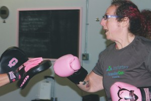 Eve Richter has lost more than 170 pounds in the two years that she has been with Pink Gloves.
