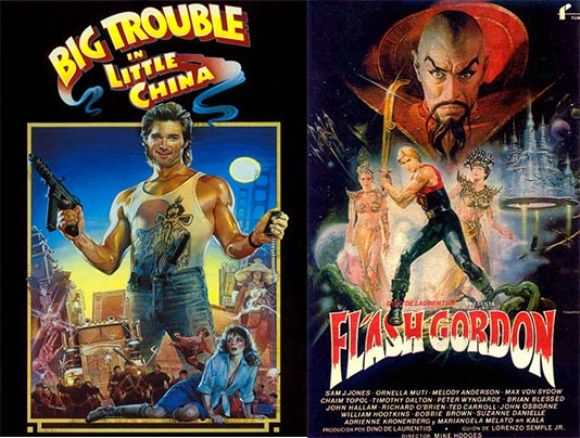 Big Trouble and Flash Gordon