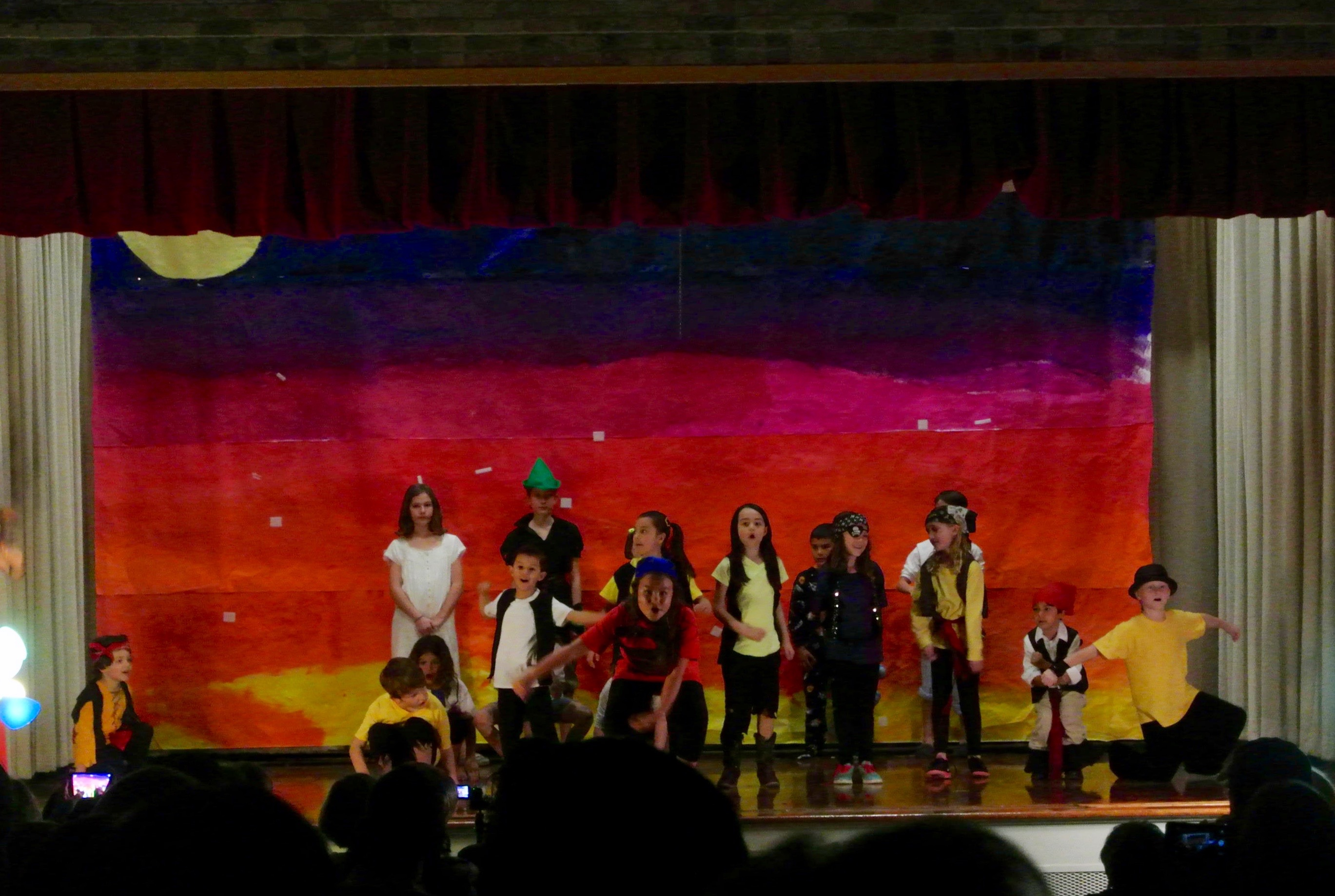 Ridgetop students perform Peter Pan.