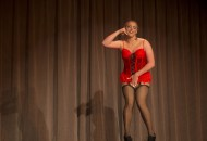 """UT student, Tyler Grant participated in this year's UT drag competition and performed to the hit single, """"Long John Blues."""""""
