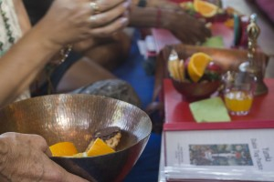 Offering food is one of the oldest and most common rituals of Buddhism. Offering food is an act that also reminds not to be greedy or selfish.