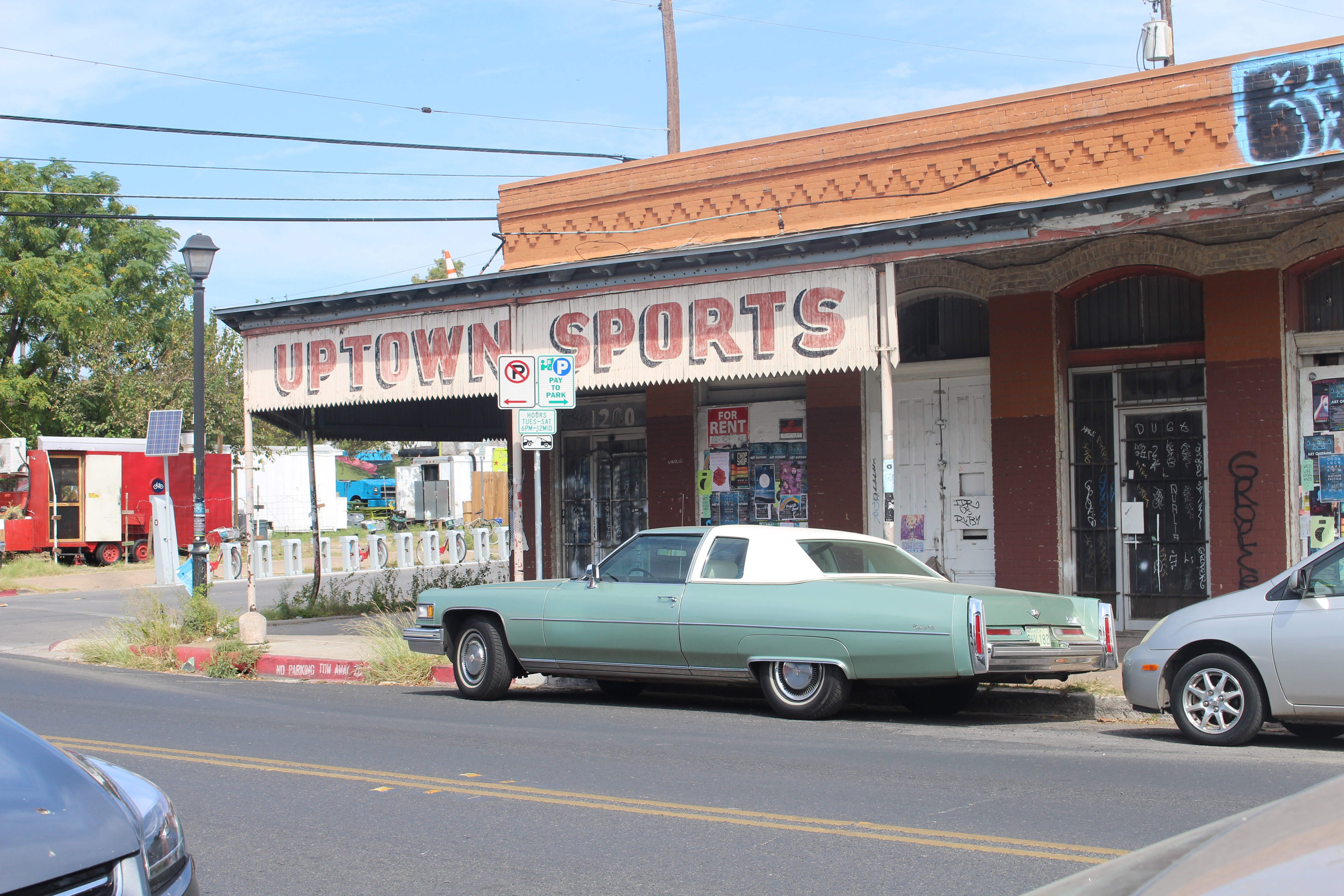 The vacant building that used to be Uptown Sports Bar sits on desirable location on E. sixth st.