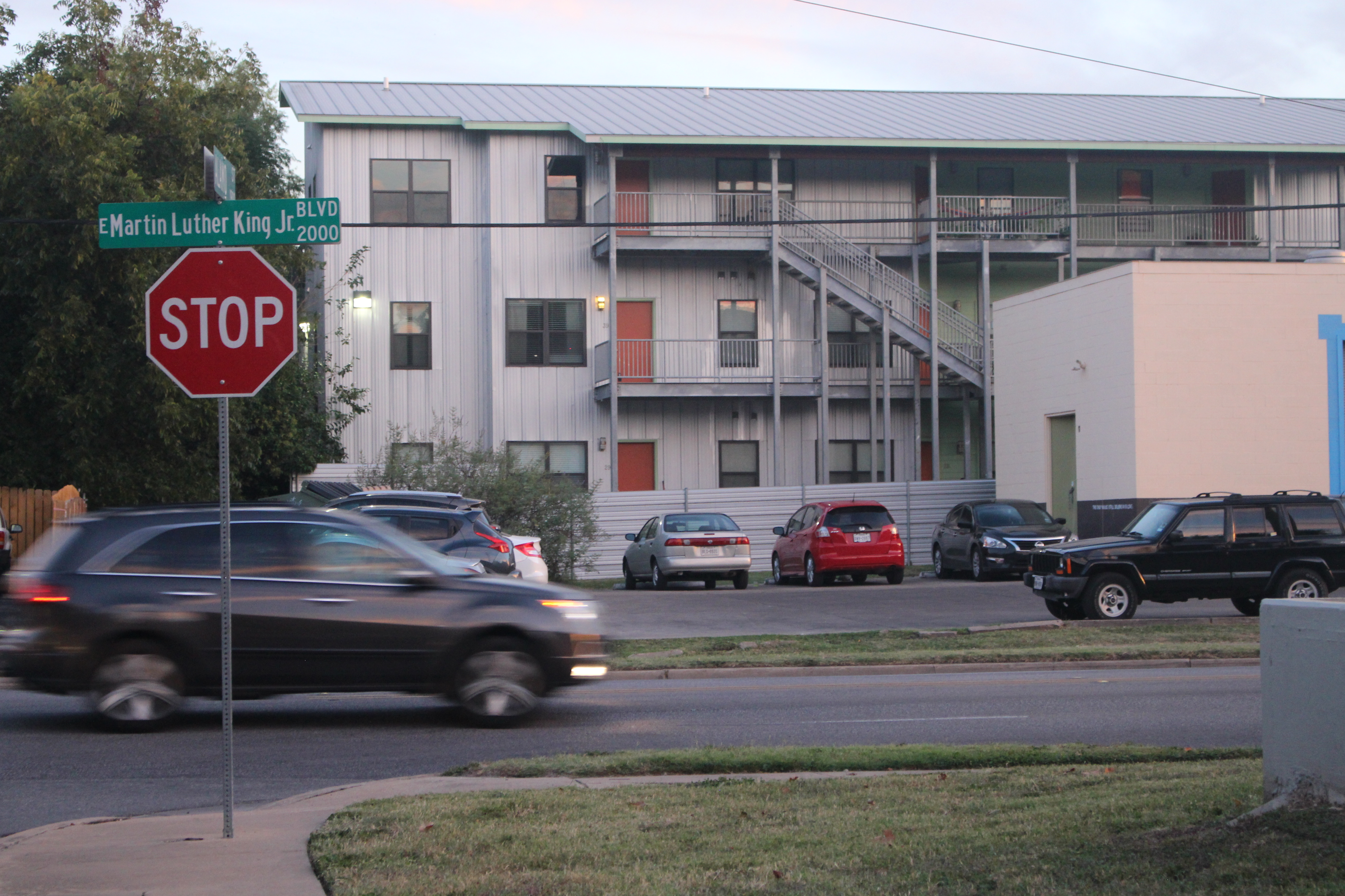 Several  apartment complexes have sprung up in recent years in East Austin