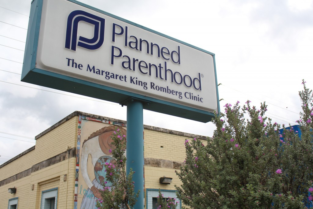 The Planned Parenthood on E 6th Street.