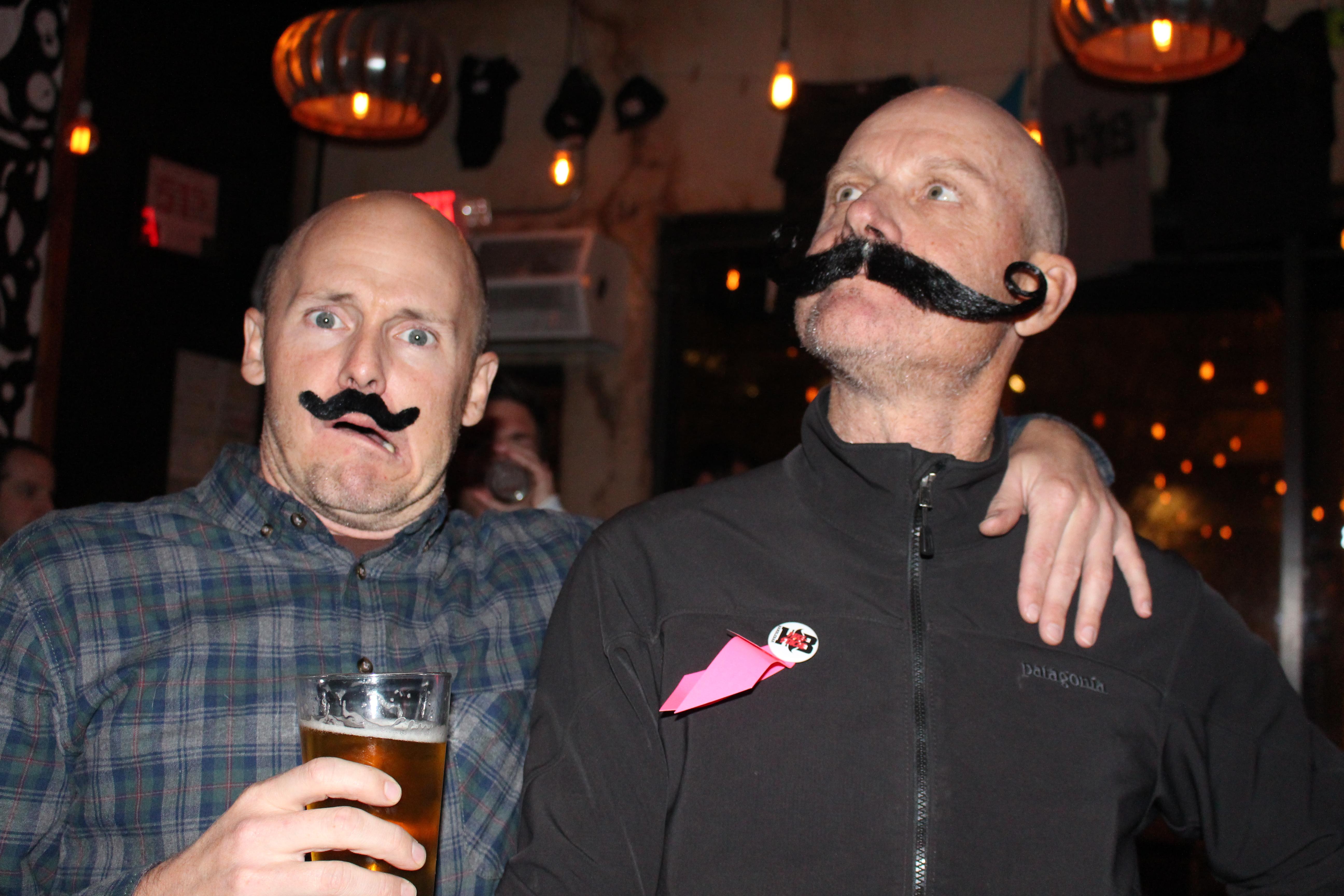 Fake Mustache Competitors