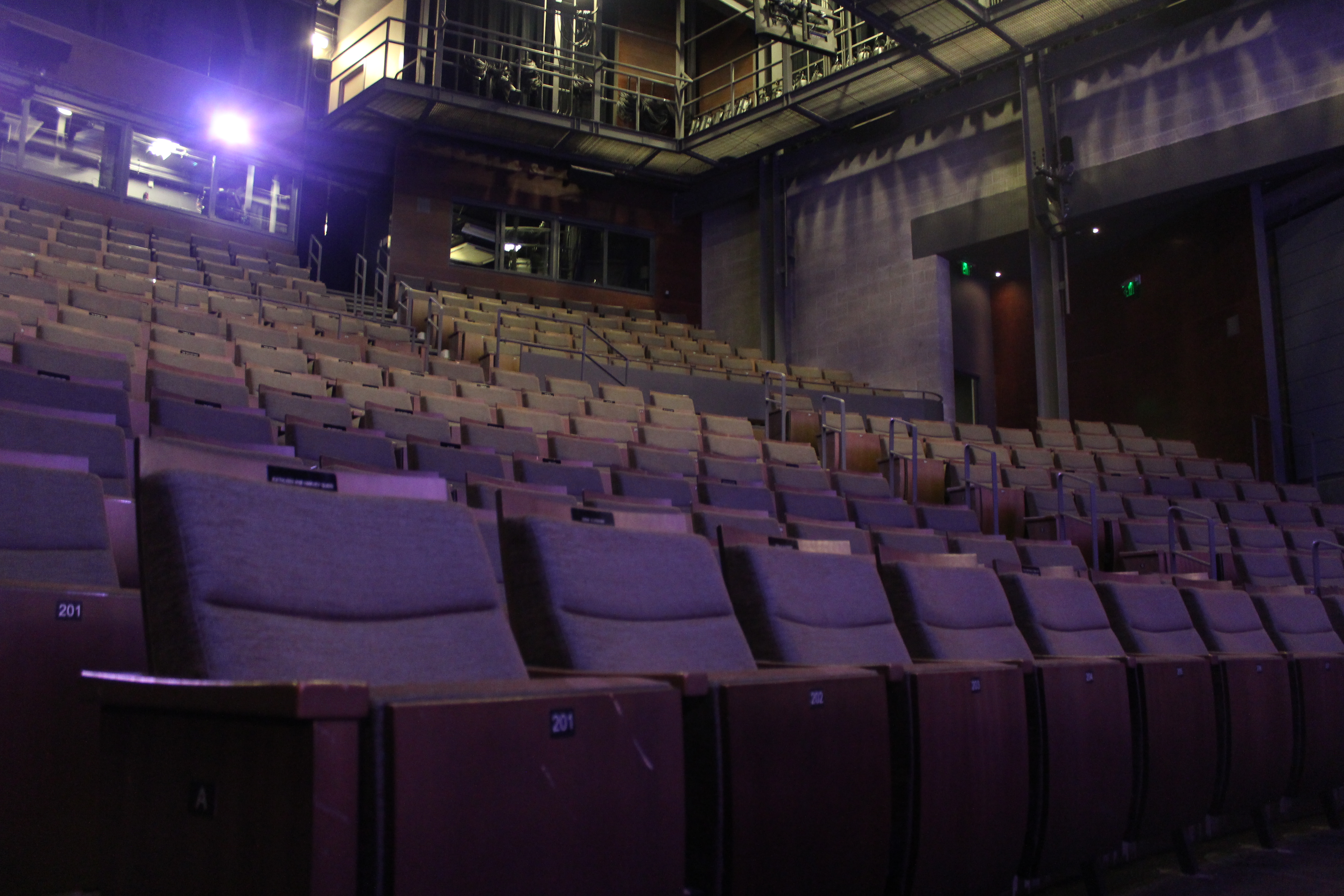 The Zach Theatre one hour before the Tribes performance.