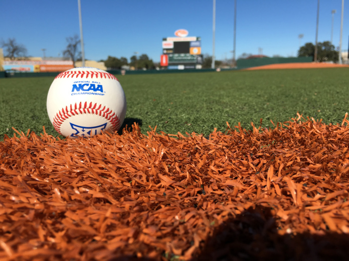 The Texas Baseball Alumni Game is played every year two weeks before the start of the regular season at UFCU-Disch Falk Field.