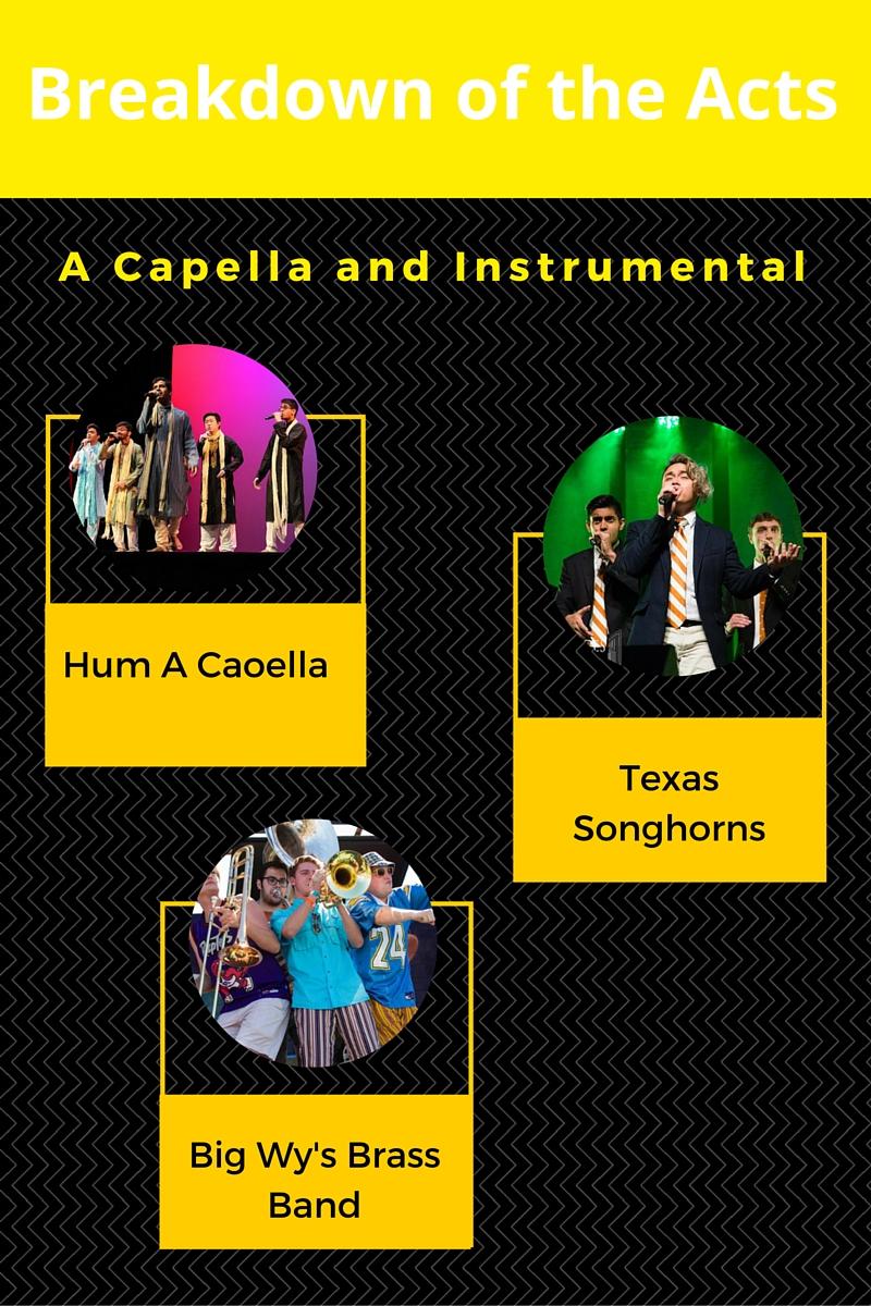 A Capella and Instrumental