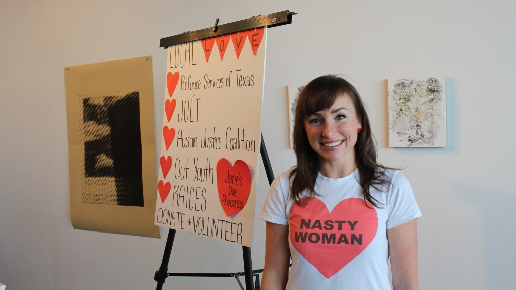 Jessica Daniel at Love Letters for Social Justice // Mackenzie Palmer