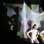 "Micaela Tobin and Anna Luisa Petriska performing ""Body Ship"""